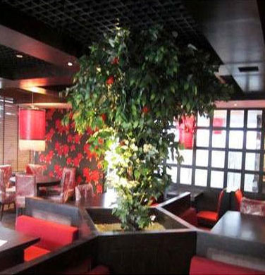 Artificial Tree for Restaurant